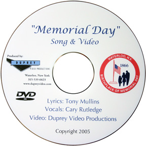 Memorial Day Video DVD